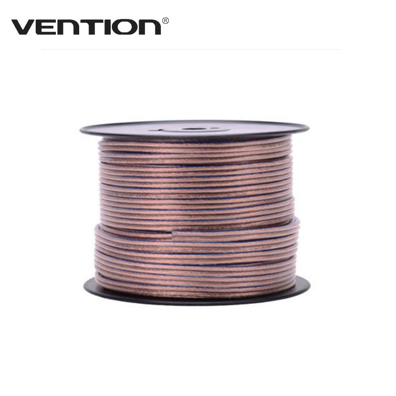 vention portable 1m speaker stereo horn speakers wire line cable power wire  subwoofer audio cable sound box line