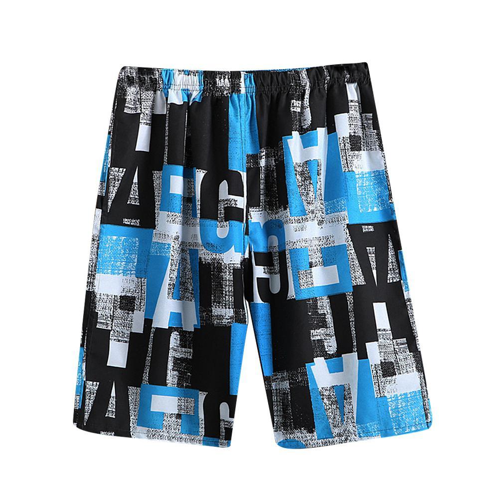 MISSKYMen Beach Shorts Swimwear Men Swim Shorts Surf Wear Board Shorts Summer Swimsuit Bermuda Beachwear Trunks Short