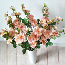New 7-fork Rose Pastoral Home Living Room Hotel Wedding Decoration Artificial Flowers Simulated