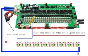 Image 4 - Smart 8S   24S 70A/100A/200A/300A bms Battery protection Board Bluetooth APP Lifepo4 li ion 10S 12S 13S 14S 16S 20S