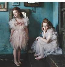Evening dress girls tutu for baby girl elegant dresses bandeau bebe fille