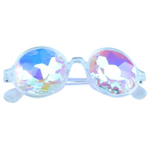 316dfd58e6 outeye Oval Kaleidoscope Rave Festival Holographic Cosplay Party Carnival  Night Club