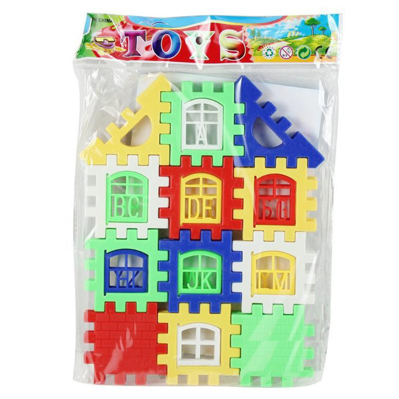 Image 5 - 24 PCS Parenting Developing House Building Blocks Construction Educational Learning Building Blocks Toys For Children Kids Gift-in Blocks from Toys & Hobbies