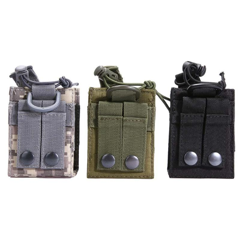 Outdoor Package Pouch Tactical Sports Pendant Military Molle Nylon Radio Walkie Talkie Holder Bag Magazine Mag Pouch Pocket