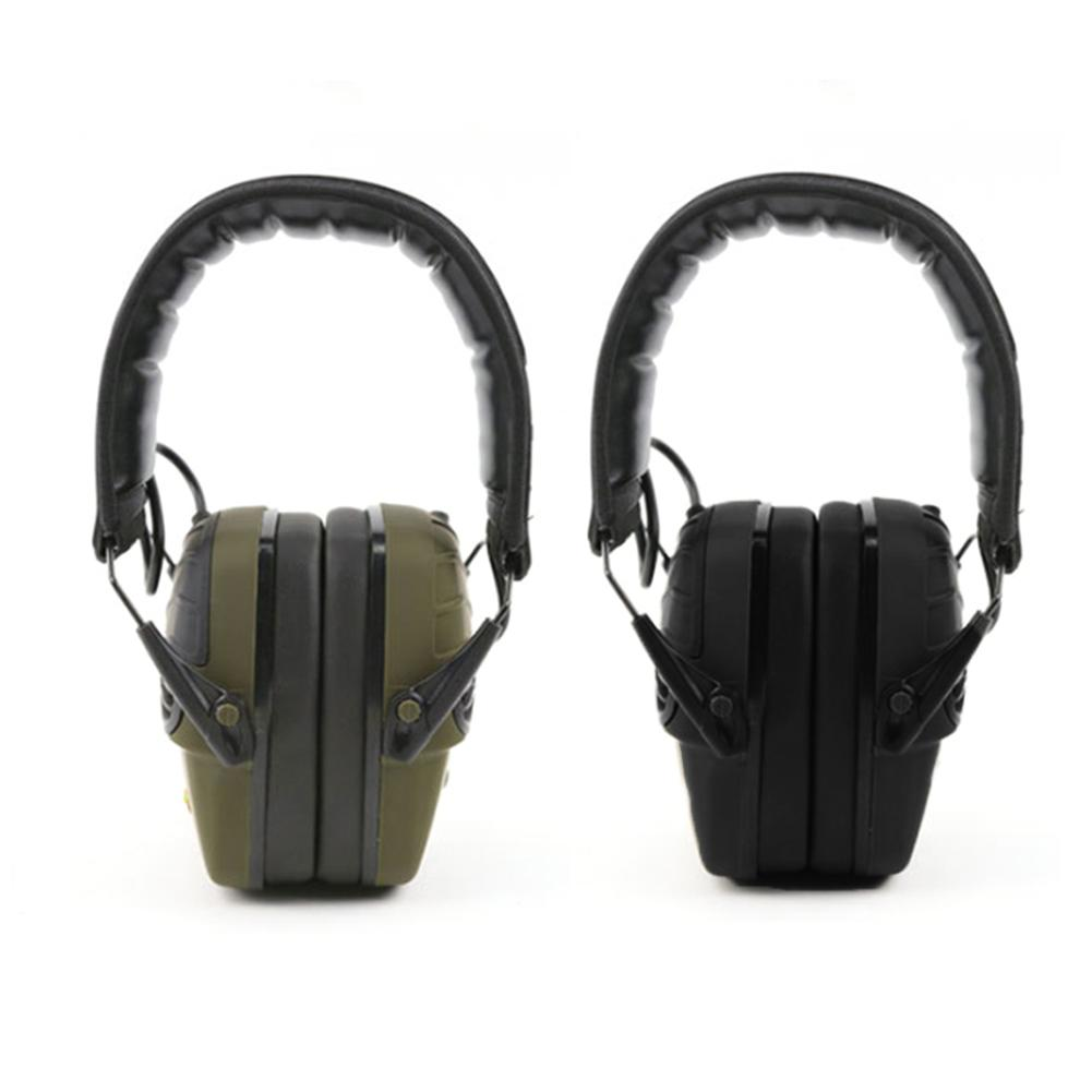 Outdoor Hunting Headphones Tactical Headset Soundproof Earmuffs Head-mounted Noise Reduction Earmuffs Military Shooting Headset