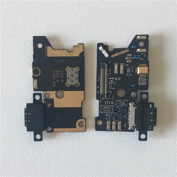 Original M&Sen For Xiaomi Note 3 Mi Note 3 Charging Charger Dock Connector Port Board Micro Flex Cable USB Mic Microphone Parts