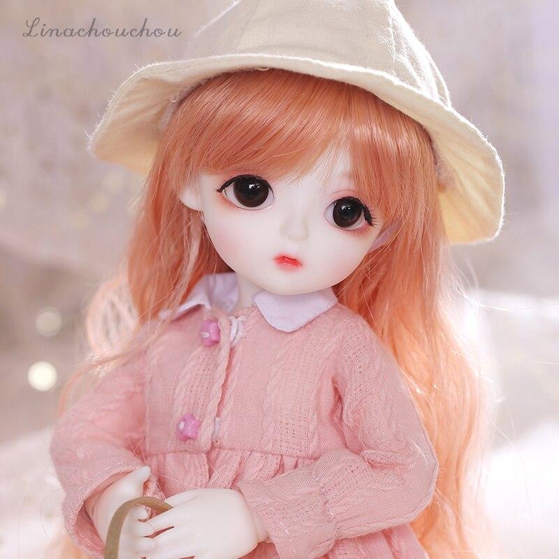 New arrival LinaChouchou Miu Miu lalki BJD SD 1/6 modelu ciała chłopcy dziewczęta Oueneifs wysokiej jakości żywicy zabawki darmowa oczu piłki sklep mody w Lalki od Zabawki i hobby na  Grupa 2