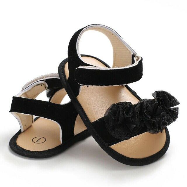 Sepatu Sandal Anak Model Bunga  2