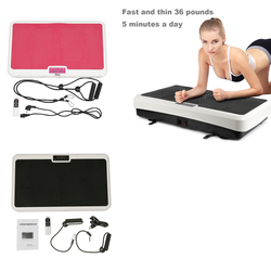 Hot Black Fitness Machine Basic Slimming Machine Fat Burning Cellulite Removal Vibration Workout Full Body Beauty Tools HWC