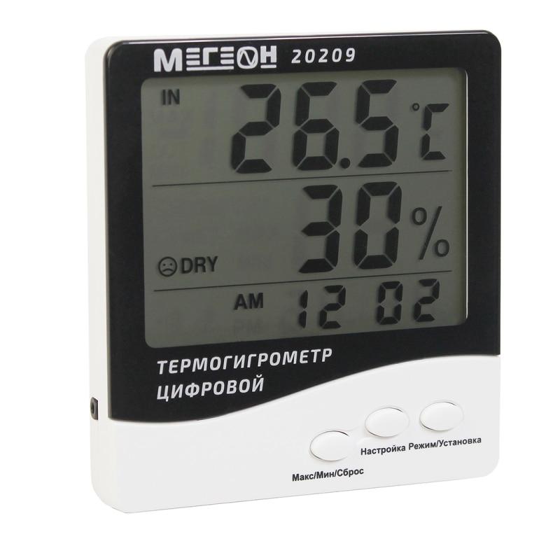 Thermohygrometer MEGEON 20209 level meter noise megeon 92130