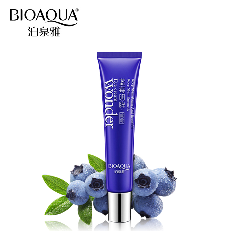 BIOAQUA blueberry eye crema ojo cuidado nutritivo hidratante calmante - Cuidado de la piel - foto 1
