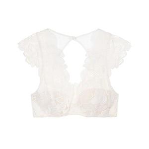 Image 3 - Missomo ลูกไม้โปร่งใสผู้หญิง Bra เซ็กซี่ VS BH Bralet Modis Push Up Bralette Plus ขนาดถ้วย Brassiere ชุดชั้นในเร้าอารมณ์ชุดชั้นใน