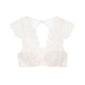Image 3 - Missomo Lace Transparent Women Bra Sexy VS BH Bralet Modis Push Up Bralette Plus Size Cup Brassiere Erotic Lingerie Underwear
