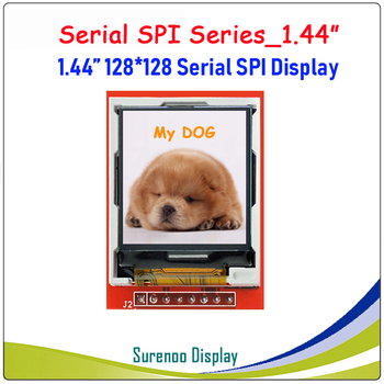128 pulgadas 128*1,44 SPI serie TFT LCD Módulo de pantalla IC ST7735S para MCU sin Panel táctil