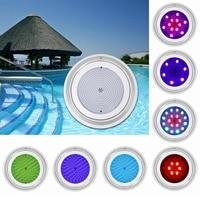 35W Underwater RGB Multicolor Light IP68 Waterproof Swimming Pool Submersible Lamp Wedding Party Lighting Tools Pool Accesspries