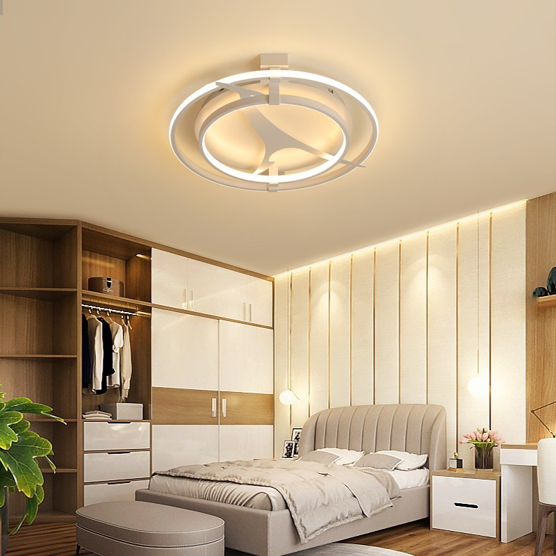 Dimmable Modern Kangaroo Led Ceiling Lights For Living Room Bedroom  White Iron Lamps Surface Mounted New Lighting Lamp FixturesDimmable Modern Kangaroo Led Ceiling Lights For Living Room Bedroom  White Iron Lamps Surface Mounted New Lighting Lamp Fixtures