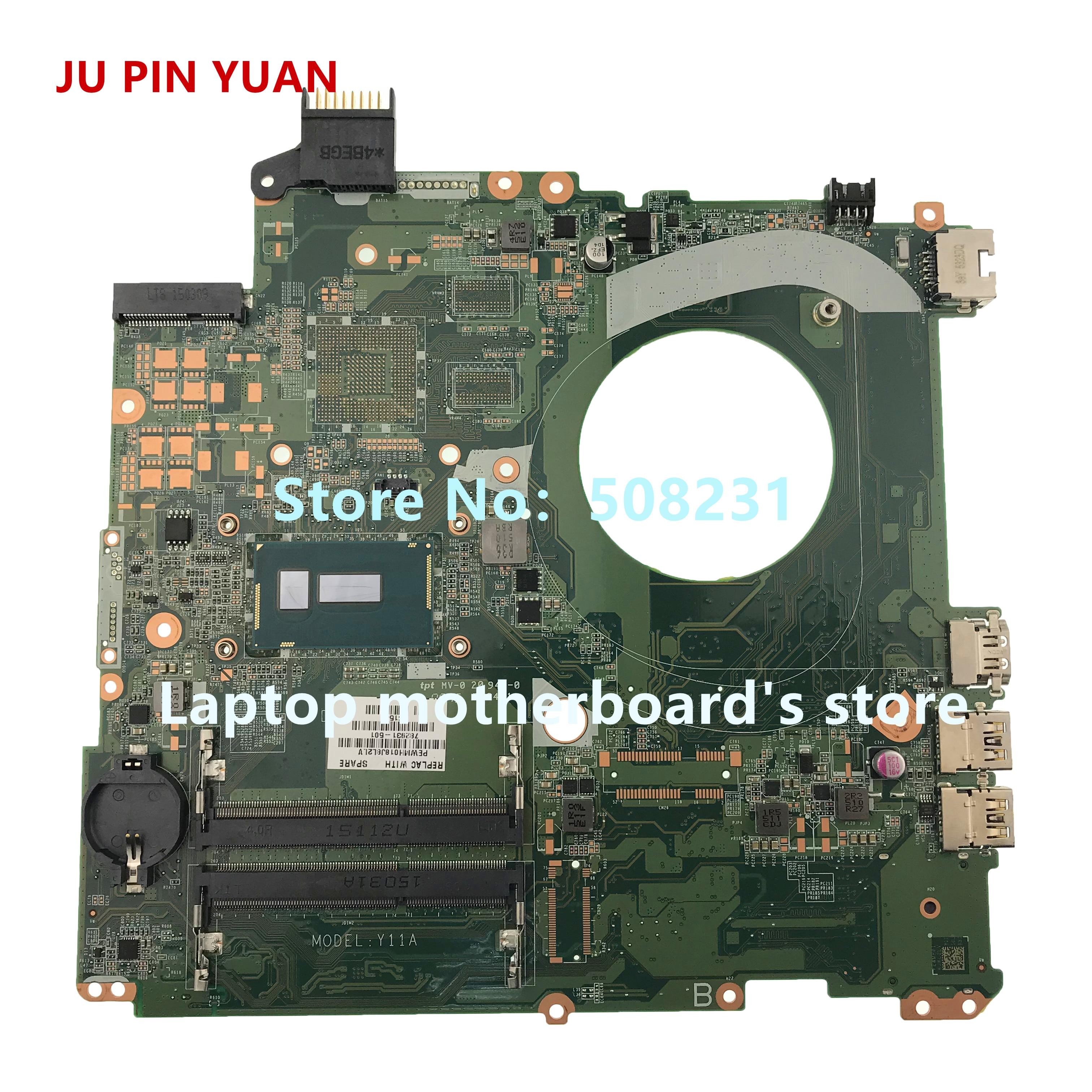 Computer & Büro Laptop Motherboard 2019 Mode Ju Pin Yuan 782931-501 Mainboard Für Hp Pavilion 15-p 15t-p Laptop Motherboard 782931-601 782931-001 Day11amb6e0 Mit I5-5200u Aromatischer Geschmack