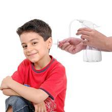 Newborn Baby Nasal Aspirator Set Safe Hygienic Nose Cleaner Snot Sucker Ear Washing Tools Soft Baby Care