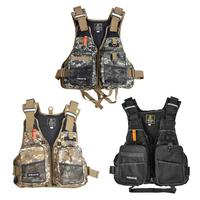 Fly Fishing Vest With Multifunction Pockets Adjustable size Mesh Fishing Backpack Fly Fishing Jacket Floatation Floating Vest