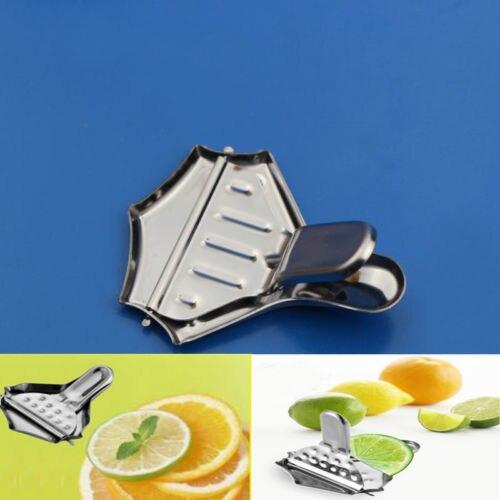 Stainless Steel Citrus Lemon Orange Lime Squeezer Juicer Hand Press Kitchen Tool