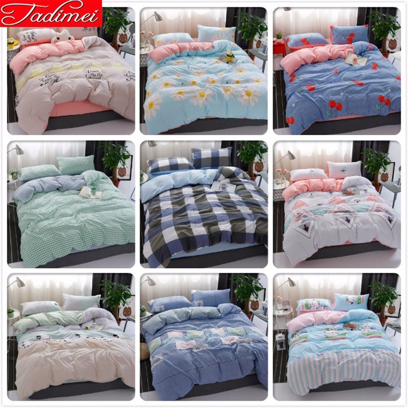 New Adult Kids Child Soft Cotton Quilt Comforter Duvet Cover Bedding Set Single Twin Full Queen King Size Bedspreads Bed LinensNew Adult Kids Child Soft Cotton Quilt Comforter Duvet Cover Bedding Set Single Twin Full Queen King Size Bedspreads Bed Linens
