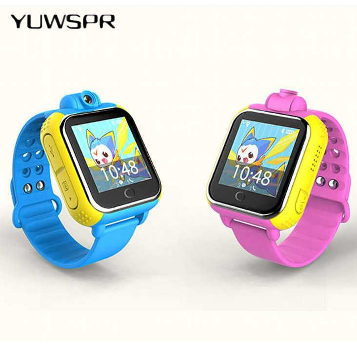 Kids Tracker Watch Q730 Q10 SOS Emergency 3G WCDMA Camera LBS WIFI Location touch screen 1.54' Wristwatch Q730