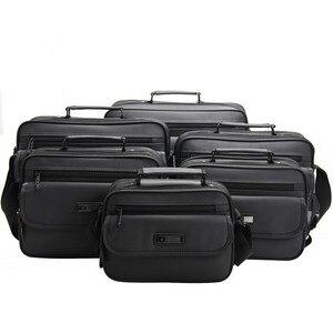 "Image 4 - Men Laptop Bag For Hp Lenovo Dell Ipad Acer 11"" 12"" 13"" 14"" 10"" 9"" Office Business Handbag Women Shoulder Bags Waterproof Oxford"