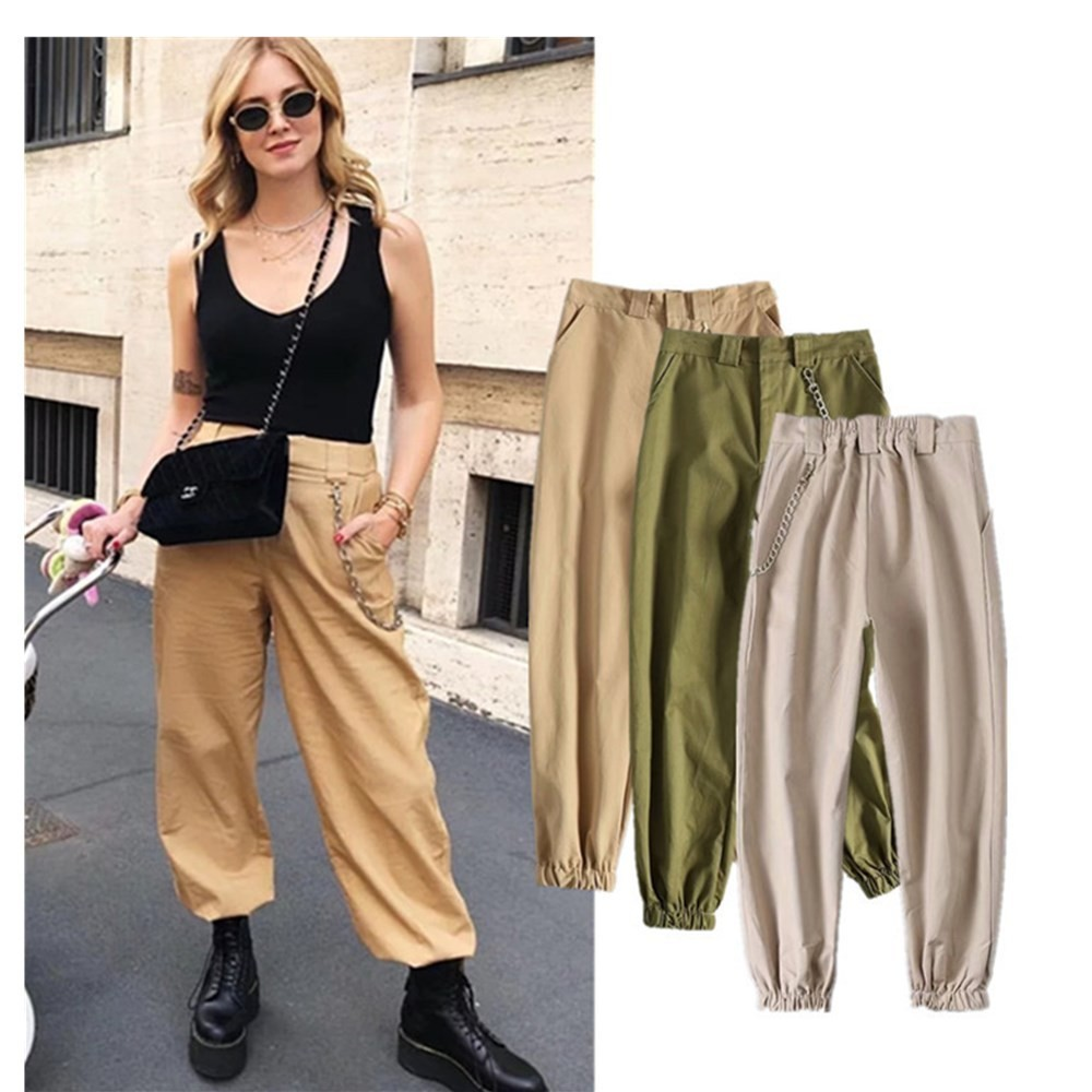 Fashion Trousers Woman Autumn New Pattern Leisure Summer Women   Pants     Capris