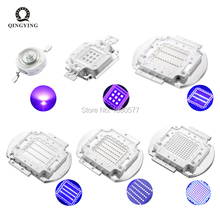 3W 5W 10W 20W 30W 50W 100W High Power UV LED Diodes Ultra Violet 365nm 370nm 380nm 385nm 390nm 395nm 400nm 405nm 430nm