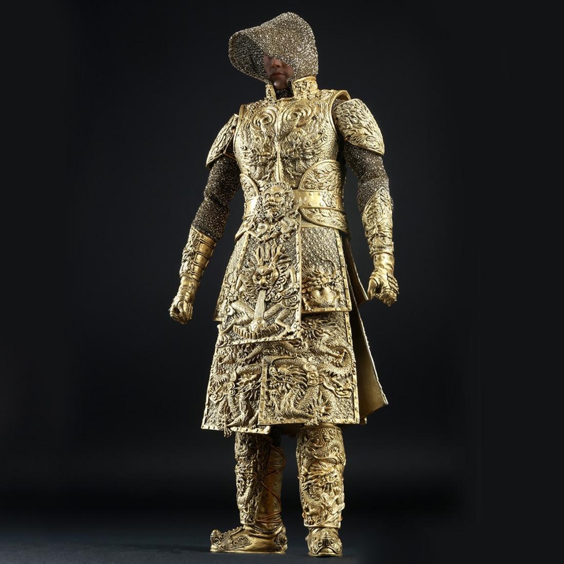 1:6 древний дракон шаблон Armour Barde одежда для 12 Мужской солдат Модель Фигурки Игрушка аксессуар серебро - 3