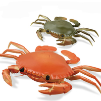 Lighting Infrared Mini RC Crab Simulative Remote Control Animal Electric Toy Funny Novelty Christmas Children Kids Gift ZLRC
