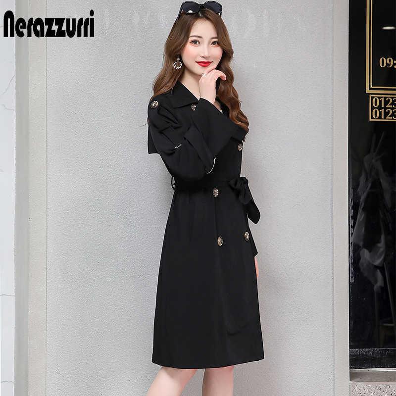 Nerazzurri пальто для женщин, большие размеры, черный, бежевый, розовый, двубортный женский, Повседневный, оверсайз, длинное пальто для женщин, 5xl 6xl 7xl
