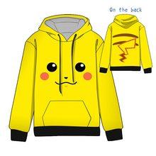 Hot Anime Pokemon Pikachu Charmander Squirtle Snorlax Cosplay Hoodies Standard Hooded   Winter  Tops Unisex  funny Sweatshirts недорго, оригинальная цена