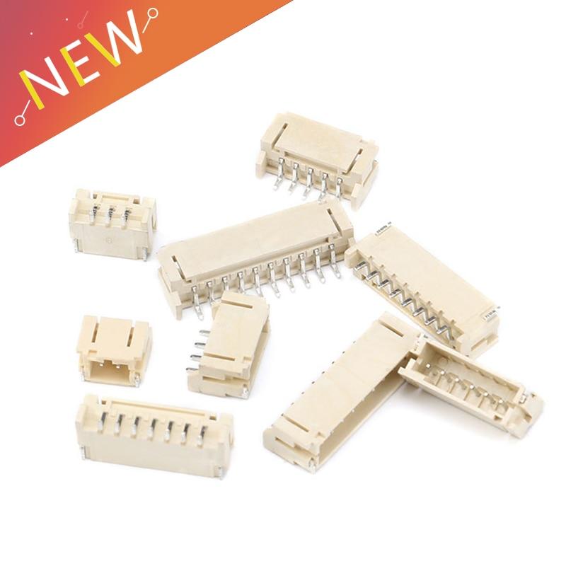 50PCS 2mm Horizontal Socket 2mm Pitch Patch Plug Connector SMT SMD PH2.0 2.0mm Pitch Connector SMD 2P 3P 4P 5P 6P 7P 8P 9P 10P