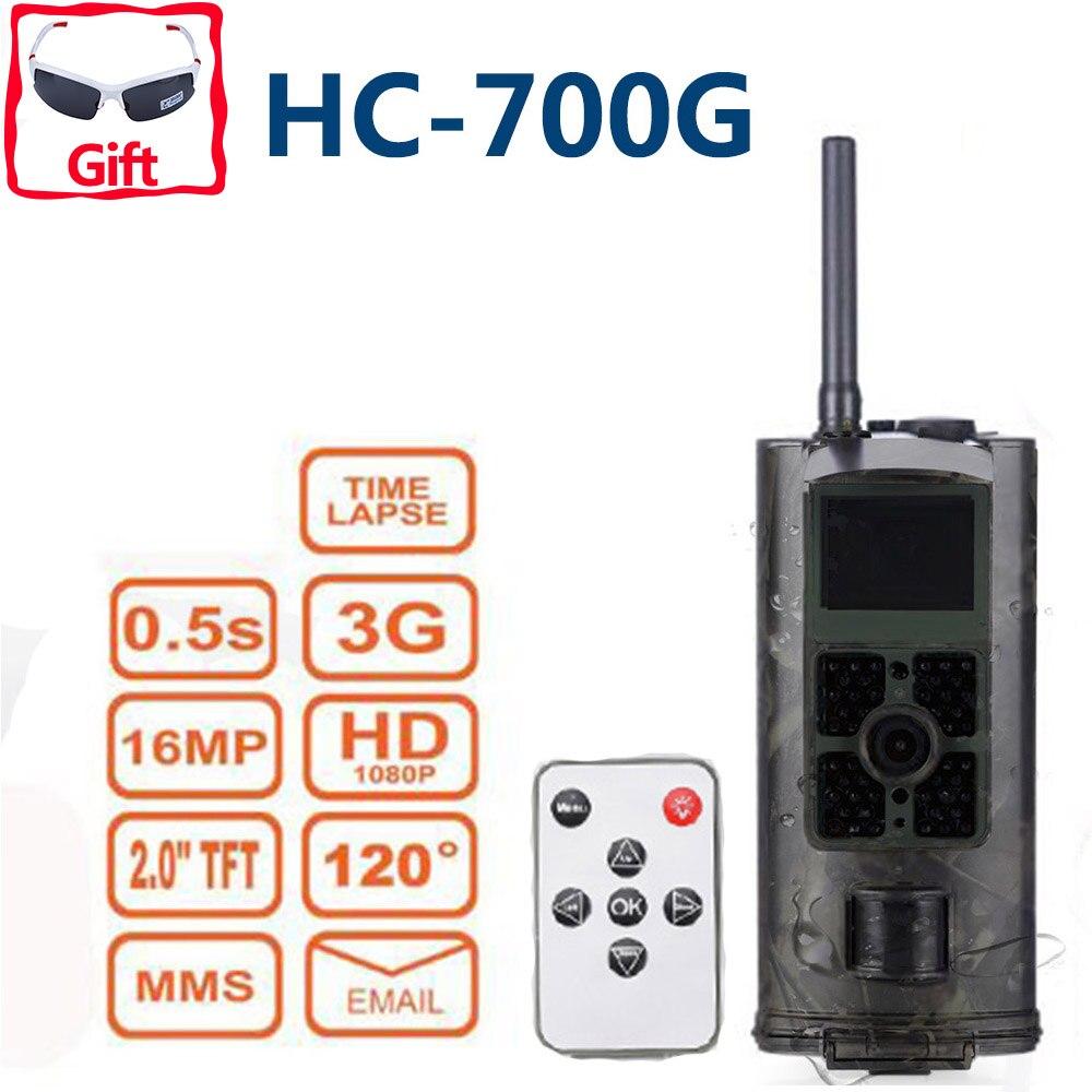Caméra de chasse de chasse à Vision nocturne Outlife HC700G caméra de chasse infrarouge 16MP 3G SMS MMS GSM 1080 P SMTP GPRS caméra piège numérique