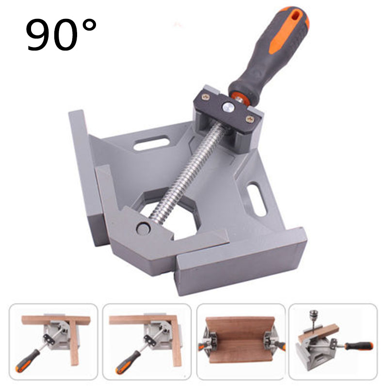 Practical 90 degree Corner Clamp Right Angle Clamp Wood Metal Welding Woodworking Vice Hand Tool Right Angle ClampPractical 90 degree Corner Clamp Right Angle Clamp Wood Metal Welding Woodworking Vice Hand Tool Right Angle Clamp