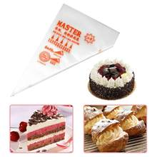 100pcs/Lot Disposable Tip Bag Icing Cake Piping Bags DIY Bake Cream Biscuit Cookie Maker Pastry Tools Kitchen Supplier Accessory(China)