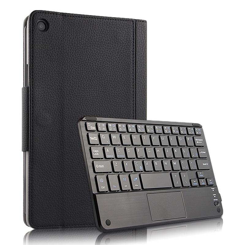 Pour Xiao mi mi Pad 4 Plus 10.1 Pouces Cas Clavier Sans Fil PU En Cuir support mobile Tablet étui pour xiaomi mi Pad 4 plus Clavier