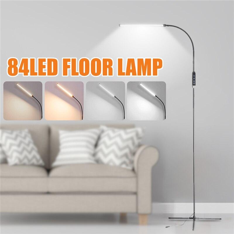 Gorąca sprzedaż ue/US wtyczka kryty regulowana wysokość lampy podłogowe dla LED Light Clamp ściemniania czytanie lampa stołowa statyw gabinet
