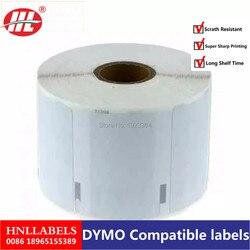 Dymo 11354 Label 57 Mm * 32 Mm 1000Pcs Dymo Compatibel Voor Labelwriter 400 450 450Turbo Printer Seiko slp 440 450