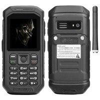 X6 Russian keyboard IP68 Rugged Waterproof shockproof Walkie talkie mobile phone Big battery FM Dual sim flashlight cell phones