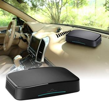 Car Air Purifier Intelligent and Efficient Conductor Start Large Area of Inlet High Power with Three Levels Twin Turbo Fan Four