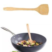 Деревянная Лопатка деревянная лопатка для сковороды с антипригарным покрытием кухонная ложка для риса деревянная лопатка кухонная посуда аксессуары для кухни