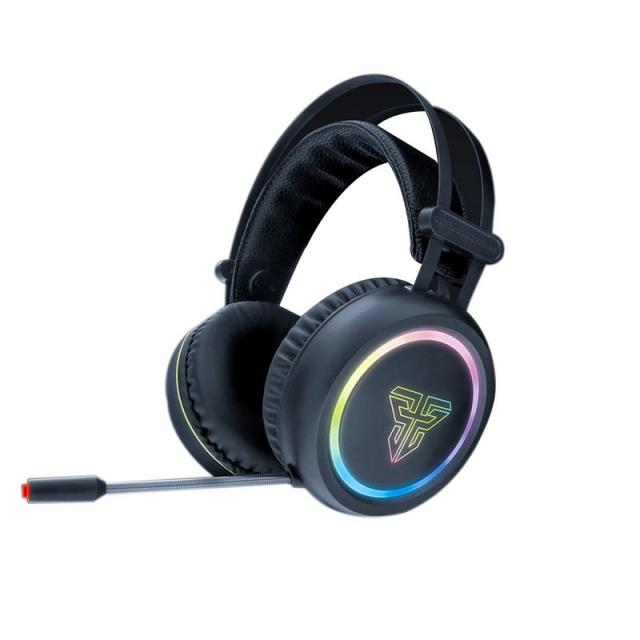 Gaming Headset Stereo headphones earphone helmet deep bass computer gaming headset adjustable microphone colorful RGB lights