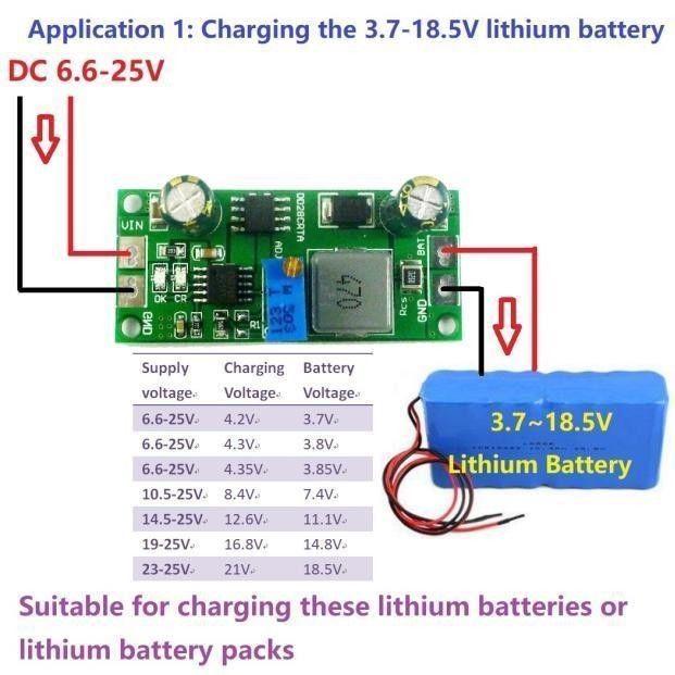 2in 1 Batterie Ladegerät & DC DC Buck Converter 3v 5v 3,3 v 3,7 V 4,2 V 7,4 V 12V F Lithium li auf LiFePO4 Batterien lade AUTO Solar