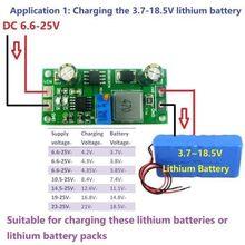 2in 1 Pin Sạc & DC DC Buck Chuyển Đổi 3V 5V 3.3V 3.7V 4.2V 7.4V 12V F Lithium Lý Trên LiFePO4 Pin Sạc Năng Lượng Mặt Trời