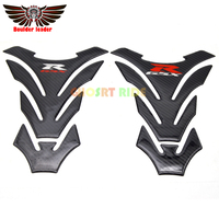New motorcycle 3D carbon fiber tank fish bone decoration stickers Fit for Suzuki GSXR 600 750 1000 K1 K3 K4 K5 K6 K7 K8 K9