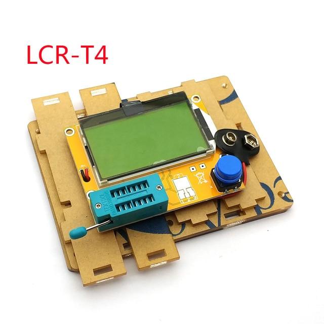 שקוף אקריליק מקרה פגז תיבת עבור LCR T4 ESR טרנזיסטור Tester קיבוליות