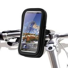 Waterproof Bag Holder 5 Inch GPS Transparent Touch Waterproof Dustproof Motorcycle Bicycle Handlebar Mount Stand Case With Pads цена
