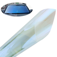 76*150cm 30x60 Chameleon Window Foils Solar Protection for Front Window Sun Block Car Window Tinting Film Scratch Resistant